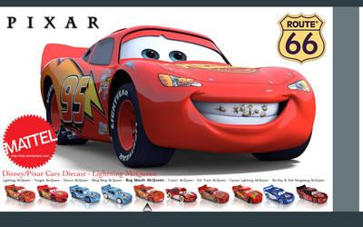 Lightning McQueen - Wallpaper by iFab