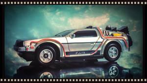 Delorean car - BTTF by iFab