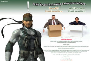 Solid Snake - Get a Box by iFab