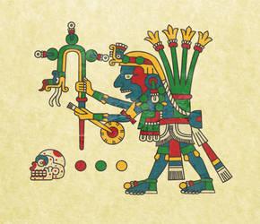 the green traveller (Yacatecuhtli) by ltiana355