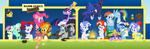 Major League Ponies by xHaZxMaTx
