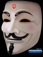 V For Vendetta Guy Fawkes Mask by Shittywall