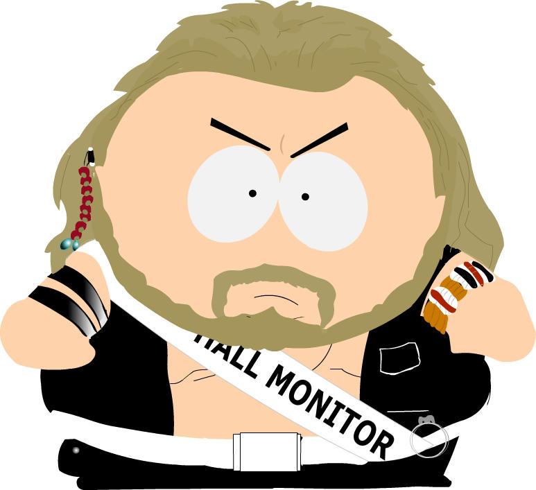 Eric Cartman - Hall Monitor by Shittywall