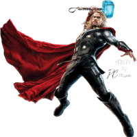 Thor Avengers Age Of Ultron Render by Davian-Art