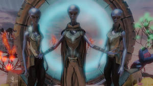 The Arcturians by Davian-Art