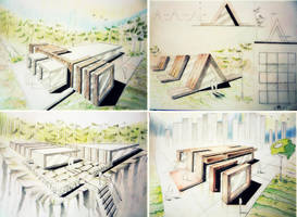 Architecture concept 2 by dr4wing-pencil