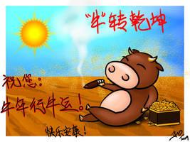 CNY - Ox by ikimi