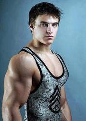 Wrestler 11 by Stonepiler