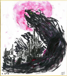Calamity Ganon by EawenTelemnar