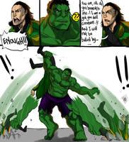 The Avengers: SMASH!! SMASH!! SMASH!!!! by DarroldHansen