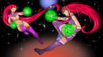 Starfire vs Starfire - Clash of the Styles by Itzcuauhtli