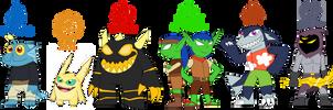 Skylanders Next Generation: Childs of legends by rizegreymon22