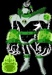 Biomnitrix Unleashed - Atomic X by rizegreymon22
