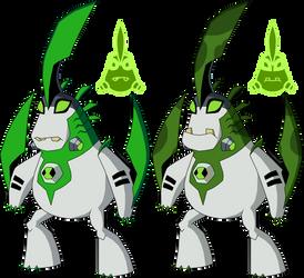 Biomnitrix Unleashed - Bigchuck by rizegreymon22