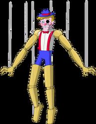 Monster Smash - Puppet Pete by rizegreymon22