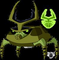 Biomnitrix Unleashed - Spin Weevil by rizegreymon22