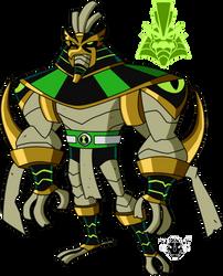 Biomnitrix Unleashed - Snare-Hawk by rizegreymon22