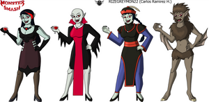 Monster Smash - Clara Mordgier by rizegreymon22