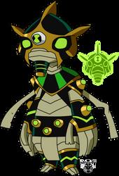 Biomnitrix Unleashed - Ditt-Oh by rizegreymon22