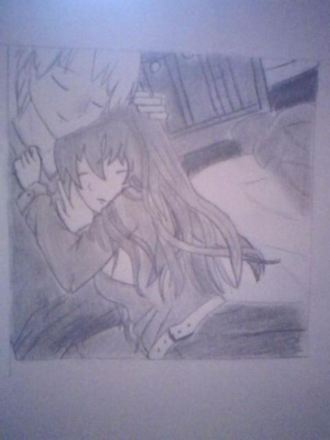 Snuggle Anime by writingismylife