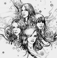 The Donnas by ChArMs84
