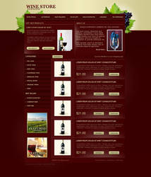 Wine Template by GCORE