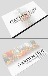 Garden Tidy - Business Card by GCORE