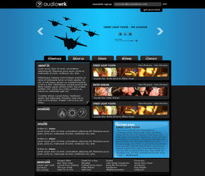 audioWRK : WIP - UPDATE 2 by GCORE