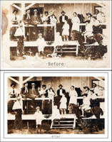 First Photo Restoration by cyspence