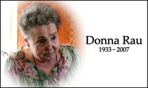 RIP Grandma Rau by cyspence