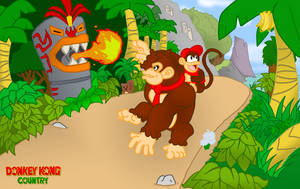 Donkey Kong Country Returns by CatchShiro