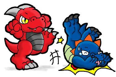 Cute Dragons by CatchShiro