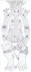 Dagan Chambers 'Treant form' by Redariv201