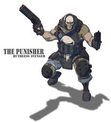 Punisher by Colorbind