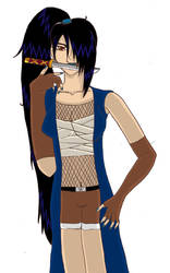 Idane of the Yagyu ninja clan by DarkJubei