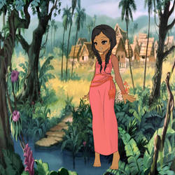 Shanti's Village   by Ellecia