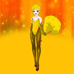 Lemon Chiffon Is Joyful by Ellecia