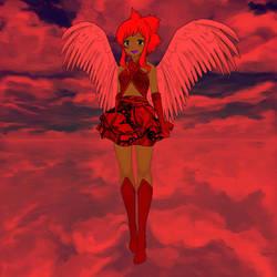 Scarlet Carmesim Is Strong by Ellecia