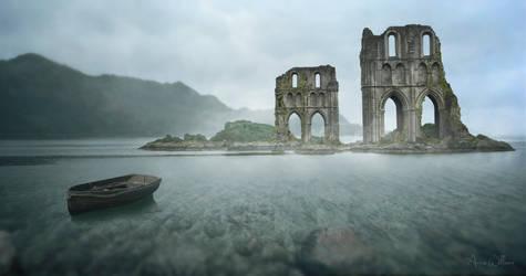 Ruin Island by AnneWillems