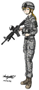 ACUs and M4s (Can't find an original title) by NDTwoFives