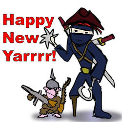 Happy New Yarrrr by dubiousethic