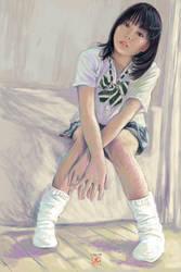girl 5 by juepaap