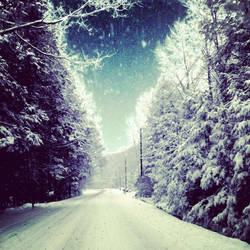 Lone Road by kimberlymeg