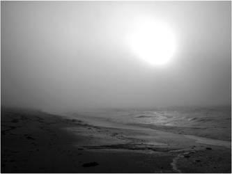 Fog on the ocean by Sevaresien