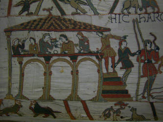 Bayeux Tapestry - 1 by Sevaresien