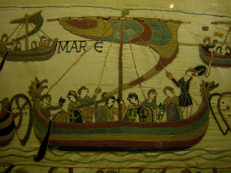 Bayeux Tapestry - 4 by Sevaresien