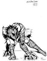 AGAHG Hunter Concept Sketch by EpoCALYPsE