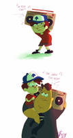Gravity Falls: Say Anything by roboptables