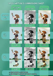 Digital Commissions Sheet. by CassyHattori36