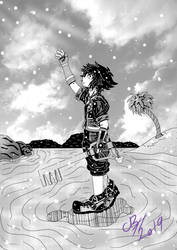 Kingdom Hearts | Simple + Clean | Manga Version by CassyHattori36